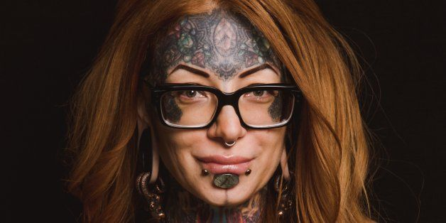 16 Women Show The Beauty In Body Modification- My piercing artist is pictured!