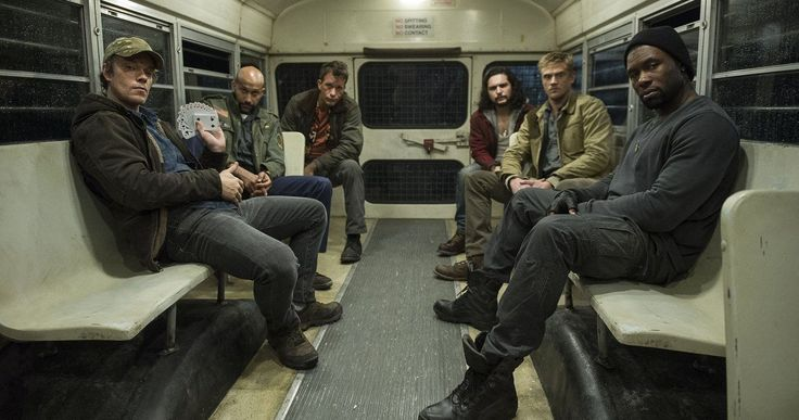 The Predator Photo Unites Thomas Jane and His Crew -- Shane Black shares a new cast photo from the set of The Predator, as Trevante Rhodes explains more of the plot. -- http://movieweb.com/the-predator-movie-reboot-cast-photo-thomas-jane/