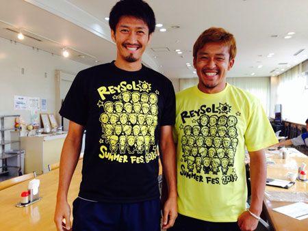 HITACHIDAI Festival T-shirt model :HIROFUMI WATANABE,TETSURO OTA  140703_fan.jpg