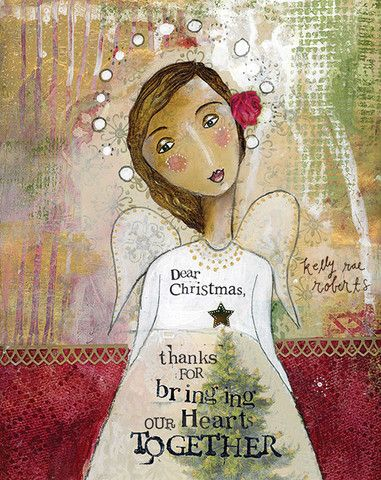 I love this time of year! There's so much sweetness in the air! Happy to share this new Christmas print with you!