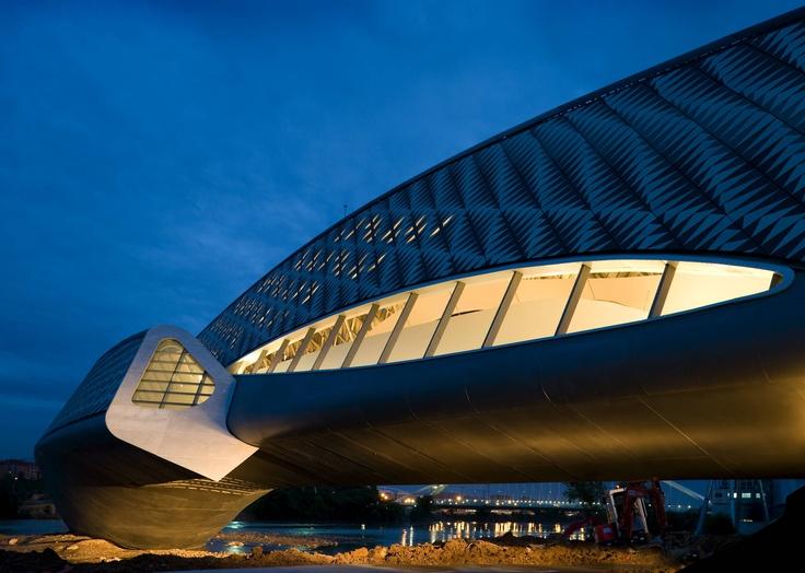 Zaragoza Bridge Pavilion - Design - Zaha Hadid Architects