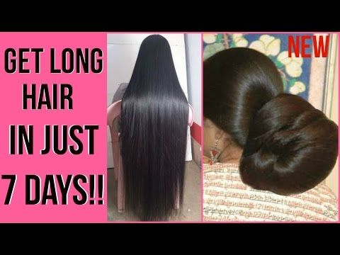 how to grow hair faster naturally in a week youtube