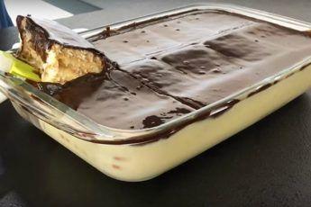 Супер вкусный десерт — Просто залил и готово