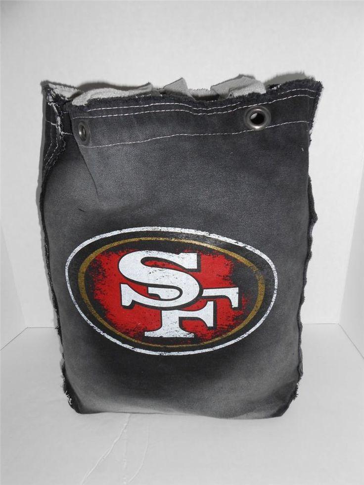 SF 49ers Genuine Pro-fan-ity NFL Merchandise Women's Denim Tote Bag NWT