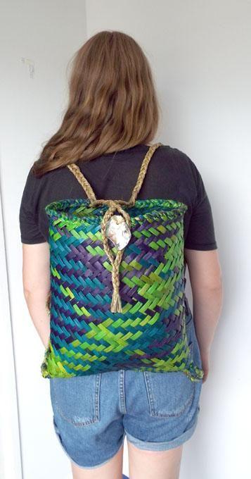 Green+Blue+Purple+Maori+Kete+Backpack  http://www.shopenzed.com/green-blue-purple-maori-kete-backpack-xidp1353933.html
