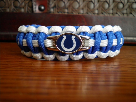 Colts paracord bracelet