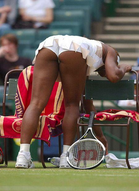 upskirt Serena williams