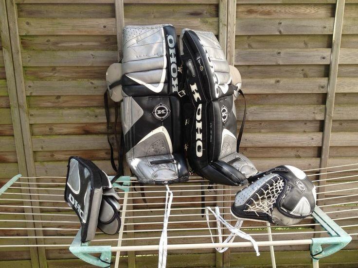 Koho Profi-Torhüterausrüstung , Beinschienen, Stockhand, Fanghand in Sport, Weitere Wintersportarten, Eishockey | eBay