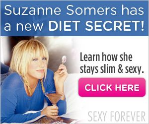 Suzanne Somers has a New Diet Secret???