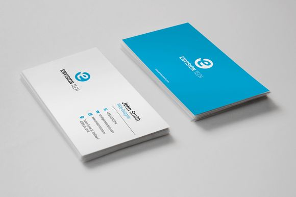 Simple Clean Business Card by ASKDziner on @creativemarket