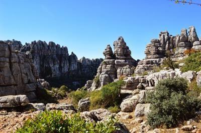 El Torcal. Märchenhaftes Wandergebiet bei #Antequera und #Malaga. #Andalusien