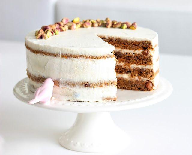 Recept na kořeněný celozrnný mrkvový dort