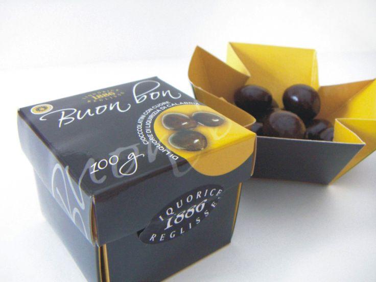 Packaging - Buon bon - Chocolate and liquorice