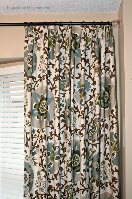 House Four: My dining room curtains - by Tonic Living