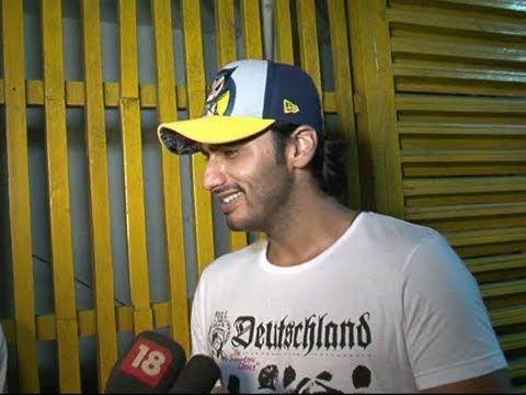 Arjun Kapoor at the screening of GANGS OF WASSEYPUR.