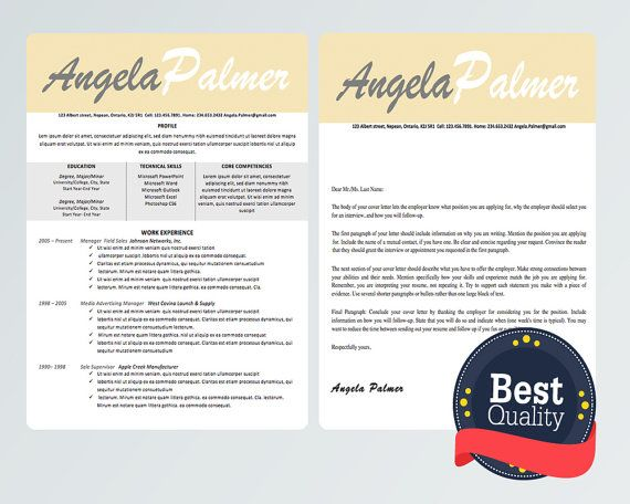 27 best Resumes + Cover Letters images on Pinterest Resume cover - cover letter template microsoft