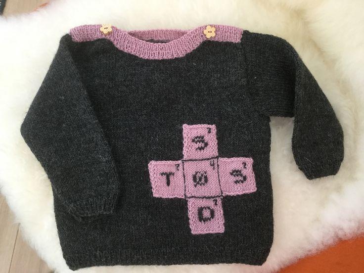 Wordfeud baby knit