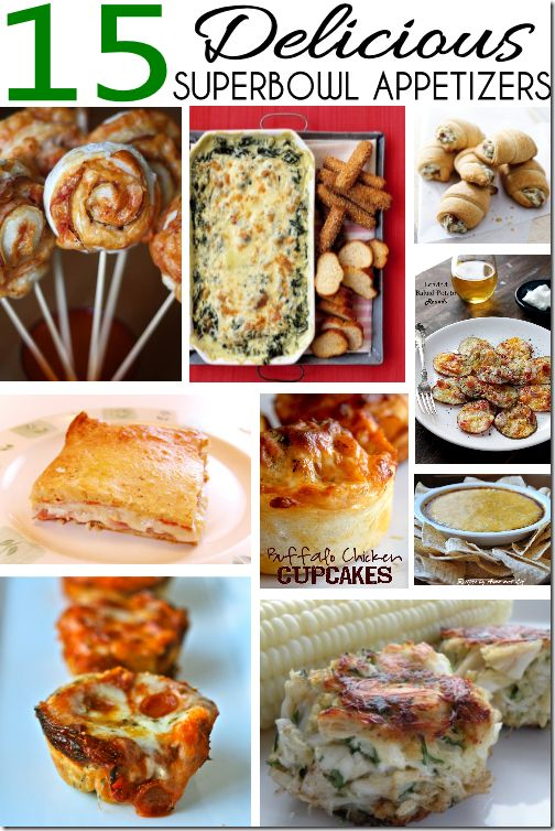 Appetizers dips and appetizer dips on pinterest for Super bowl appetizers pinterest