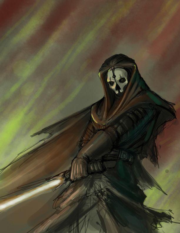 Darth Nihilus speed paint 3 by hattonslayden.deviantart.com