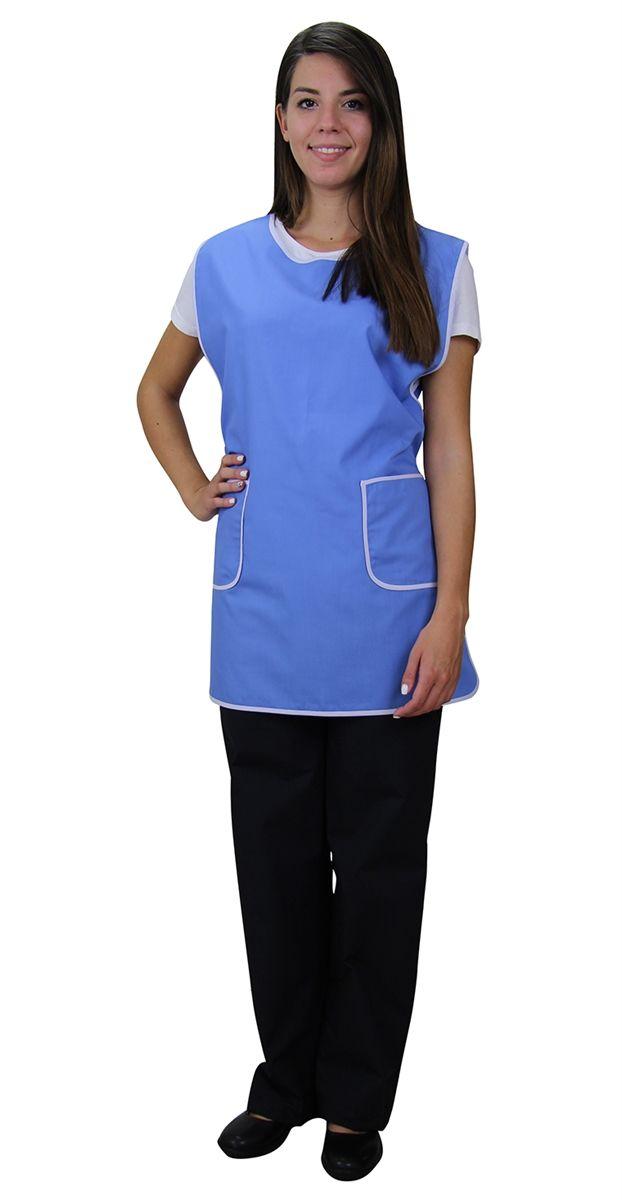 Ρουχα Εργασιας,  φορμες εργασιας Περιγραφή:  Μπλούζα γυναικεία αμάνικη δετή (CODE:1B1081)