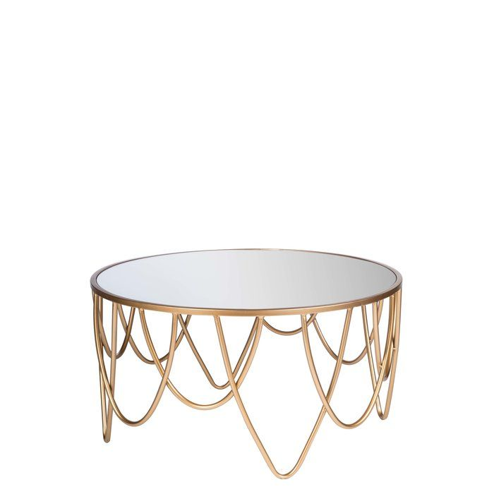Pakswith Coffee Table Gold Coffee Table Mirrored Coffee Tables Coffee Table