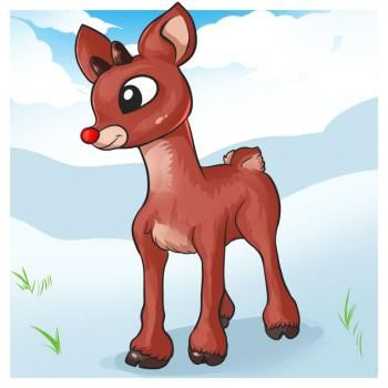 How to Draw Rudolph, Step by Step, Christmas Stuff, Seasonal, FREE Online Drawing Tutorial, Added by Dawn, September 2, 2010, 3:52:27 pm