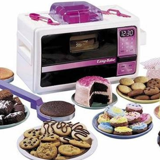 Easy bake oven. Total necessity when I was 6.