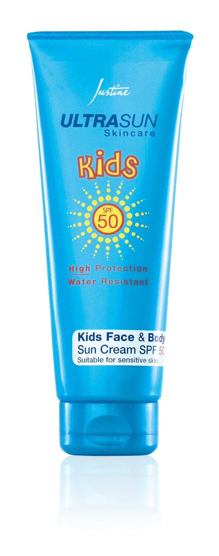 Ultrasun Skincare Kids Face  & Body Sun Cream SPF 50  75 ml   Code 3274  For More Information - http://www.justine.co.za/PRSuite/home_page.page