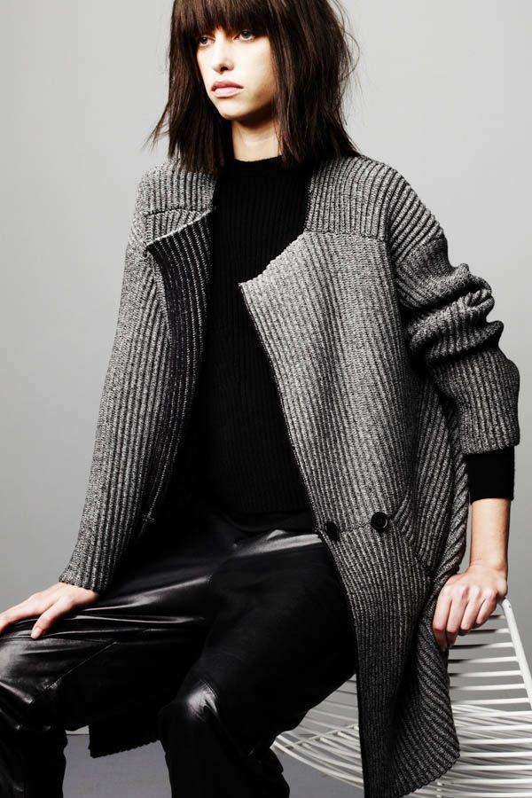 Soyer Ottoman Sweater Coat - #allknit