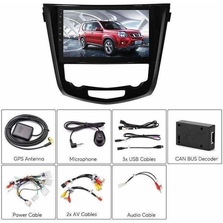 wallmart.win-Car DVD Player-1 DIN Car Stereo For Nissan X Trail Android 6.0 Bluetooth WiFi 3G Dongle Support GPS CAN BUS Octa Co-best-price