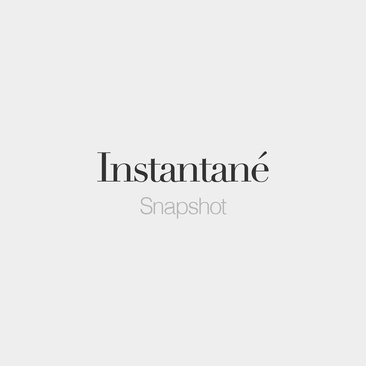 Instantane Masculine Word Snapshot  C Bs Ta Ta Ne