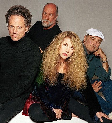Hit makers: Stevie Nicks, Lindsey Buckingham, Mick Fleetwood and John McVie