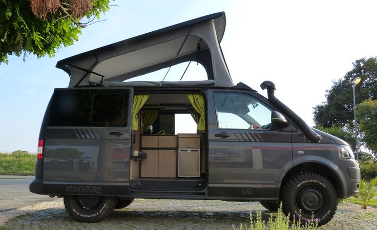 multicamper adventure vw t5 4motion t6 pinterest. Black Bedroom Furniture Sets. Home Design Ideas