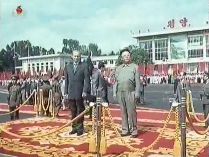 Визит Президента России В.В.Путина в КНДР (2000 год).