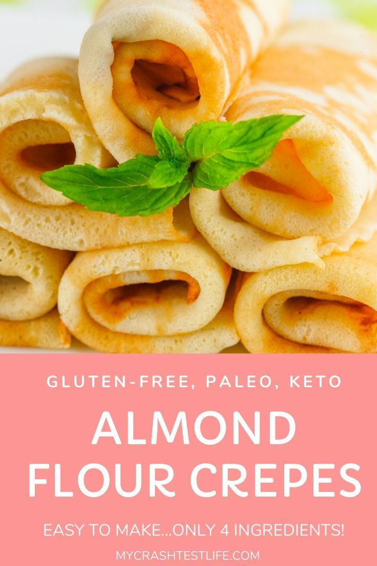 Almond Flour Crepes Whole30 Paleo Keto Recipe In 2020