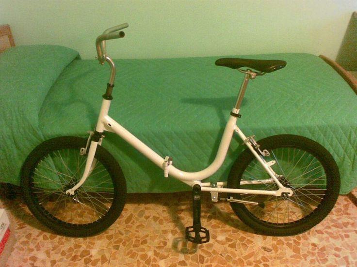 Bmx folding bicicleta plegable aurorita single speed old vintage bike
