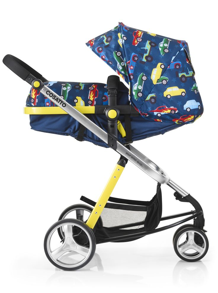 Cosatto Woop Travel System Is Faff Free With Carrycot And Pushchair Combined Into One