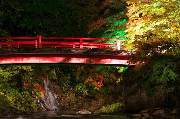 青森県黒石市 中野もみじ山