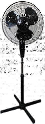 """VMI 16"""" Black Oscillating Pedestal Fan"""