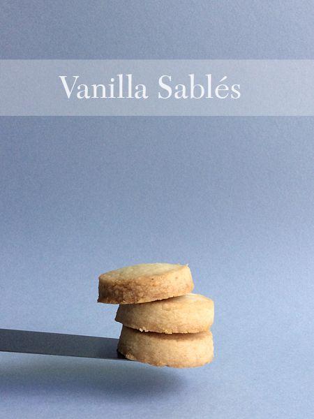 Vanilla sablés