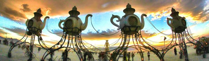 Burning Man | Black Rock City, Black Rock Desert, NV - A city in the desert. A culture of possibility. A network of dreamers and doers.