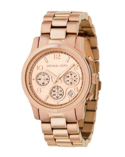 Michael Kors Rose Gold Runway Watch - Women's Watch MK5128 for only $199.95 You save: $50.05 (20%)