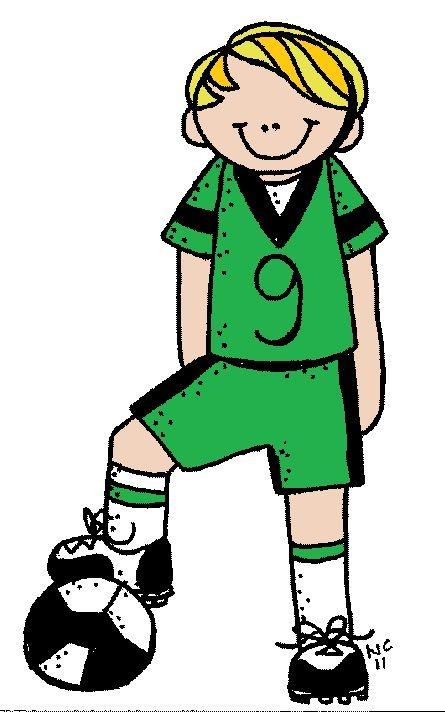Futbolista varón color