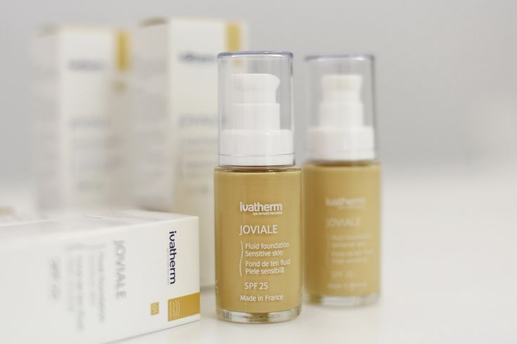 JOVIALE Fluid foundation SPF 25 #ivatherm