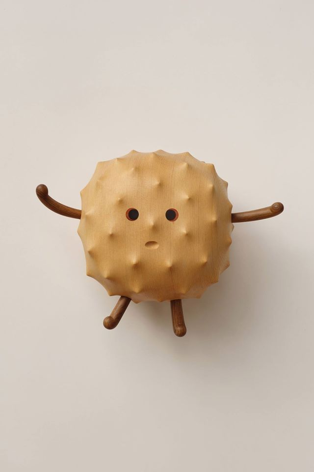 I haven't seen this many dawww-worthy designs in one place since friendswithyou's blindbox series. Yen Jui-Lin is an artist from Taiwan specializing in wooden sculptures, decor, and furniture. These adorable creatures demand attention due to their playful appearance and beautiful wood grain patterns. I just wish I could see these in person, or even better, take one home for myself!