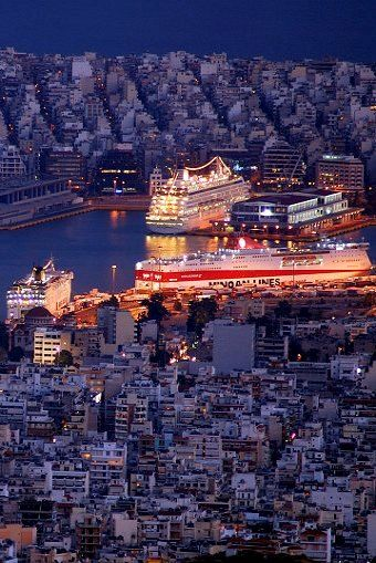 The Port of Piraeus, Attica, Greece