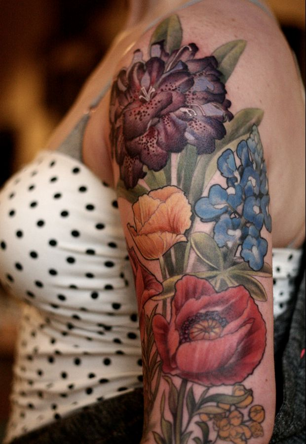 Alice Carrier Is A Tattoo Artist At Wonderland Tattoo In: #tattoofriday - Alice Carrier