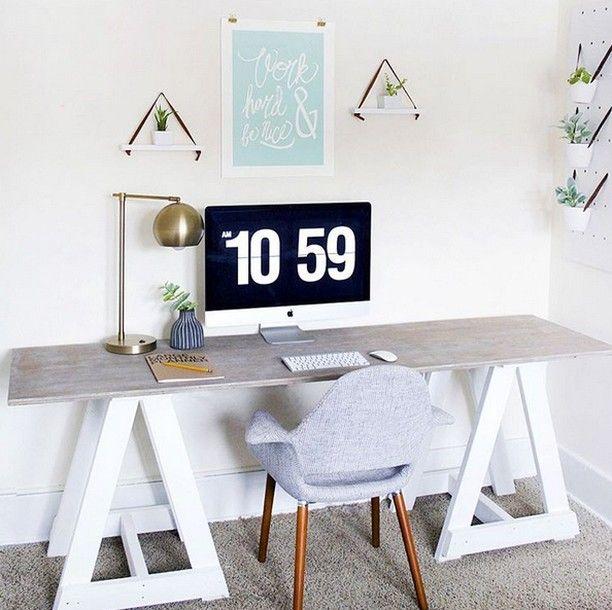 Ce bureau à linspiration scandinave est à faire rêver muramur