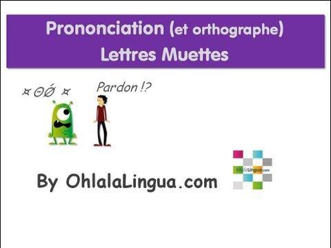 La pronunciación 2.