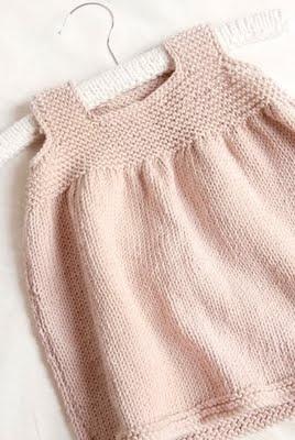 petite robe bébé rose poudré Edwina Bolger